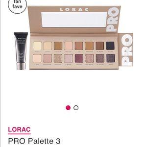 LORAC Pro Eyeshadow Pallet 3